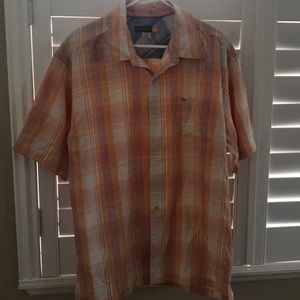 Men's casual Button Down dress shirt.